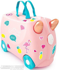 Trunki ride-on suitcase 0353 FLOSSI FLAMINGO
