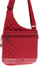 Hedgren Diamond Touch handbag LIZA HDIT09 BULL RED