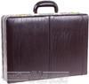 Futura leather attache case 00790J  BURGUNDY