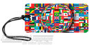 Global International flags luggage tag 16LTG140MX