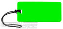 Global luggage tag 16LTG133NG NEON GREEN