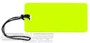 Global luggage tag 16LTG134NY NEON YELLOW