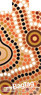 My bag tag Twin pack BTAUS04 ABORIGINAL ART