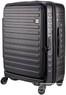 Lojel Cubo 65cm Hardside Top opening suitcase LJCU65 BLACK