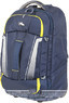 High Sierra composite V3 wheeled duffle with backpack straps 56cm 87274 NAVY / YELLOW