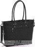 Hedgren Diamond Star 14'' tote ZIRCON M HDST04M Black