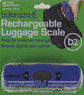 Balanzza USB rechargable mini Digital luggage scales BZ400U BLUE