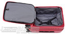 Lojel Cubo 54cm Hardside cabin laptop Suitcase LJCU54 BURGUNDY RED - 2