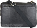Things Terrific leather briefcase HENLY Black