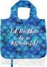 AT folding shopping bag 11TRM Mermaid