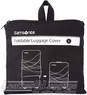 Samsonite foldable luggage cover (small) 57547 BLACK
