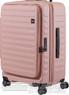 Lojel Cubo 65cm Hardside Top opening suitcase LJCU65 ROSE