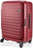 Lojel Cubo 74cm Hardside Top opening suitcase LJCU74 BURGUNDY RED