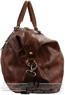 Pierre Cardin Leather overnight duffle 2824 DARK COGNAC - 1