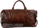 Pierre Cardin Leather overnight duffle 2824 DARK COGNAC - 2