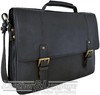 Hidesign leather briefcase CB-003 CHARLES BLACK