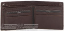 Cellini Viper RFID leather wallet with flap CMH208 BROWN
