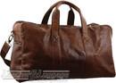 Pierre Cardin Leather overnight duffle 2825 CHESTNUT