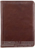 Pierre Cardin A4 Leather compendium PC3062 CHOCOLATE