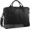 Pierre Cardin Leather briefcase PC2807 BLACK