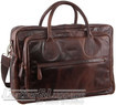 Pierre Cardin Leather briefcase PC2802 DARK CHOCOLATE