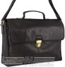Pierre Cardin Leather briefcase PC3132 BLACK
