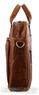 Pierre Cardin Leather briefcase PC2797 CHESTNUT - 2