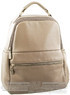 Pierre Cardin leather backpack PC1867 TAUPE