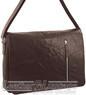 Pierre Cardin Leather messenger bag PC2798 BROWN