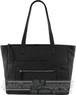 Gabee Genevieve Leather tote LW67221 Black