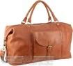Pierre Cardin Leather overnight duffle 3134 COGNAC
