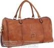 Pierre Cardin Leather overnight duffle PC3335 COGNAC