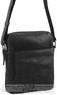Pierre Cardin Leather shoulder bag PC2795 BLACK