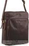 Pierre Cardin Leather shoulder bag PC2804 CHESTNUT