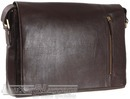Hidesign leather messenger HOLDEN BROWN