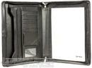 Artex Leather A4 compendium business buddy  A4036610 BLACK