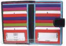 Cellini Paris leather wallet CW1212 MULTI COLOUR / BLACK