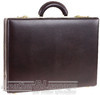 Futura slimline leather attache case 1894QL BURGUNDY